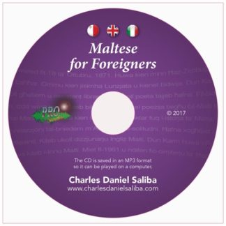 Maltese for Foreigners - Audio CD