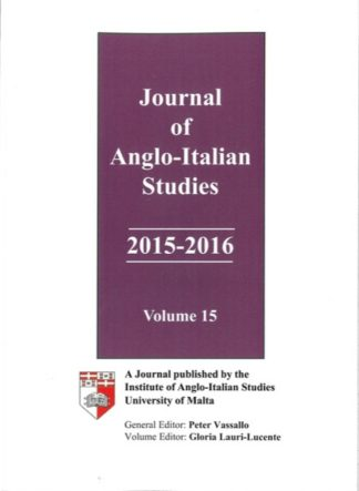 Journal of Anglo-Italian Studies