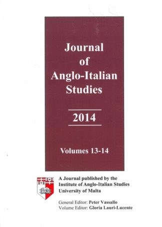 Journal of Anglo-Italian Studies 2014