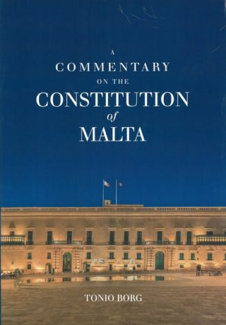 A Commentary on the Constitution of Malta - HB