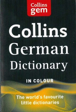 Collins Gem German Dictionary in colour