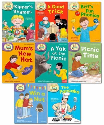 Phonics and First Stories Collection Levels 1-3