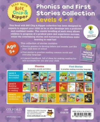 Phonics and First Stories Collection Levels 4-6