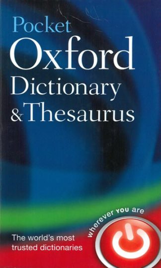 Pocket Oxford Dictionary & Thesaurus