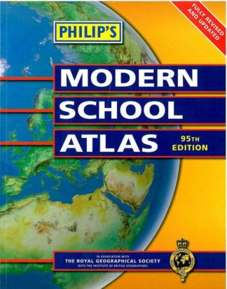 Philip's Modern School Atlas - 95th edition