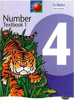 Abacus  Number 4 Textbook 1