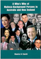 A Who's Who Of Maltese Background Persons in Australia and New Zealand