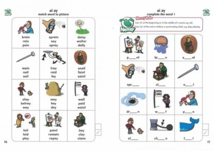 Phonic Sounds 1 activities for learning