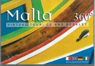 Malta 360 Degrees - virtual tour: CD ROM and booklet in Maltese