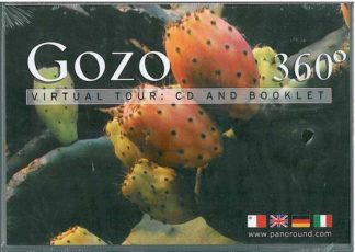 Gozo 360 Degrees - virtual tour: CD ROM and booklet in Maltese