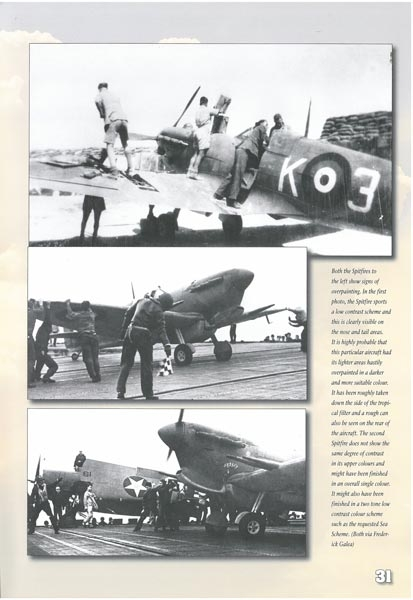 Malta Spitfire Vs-1942: Their Colours and Markings