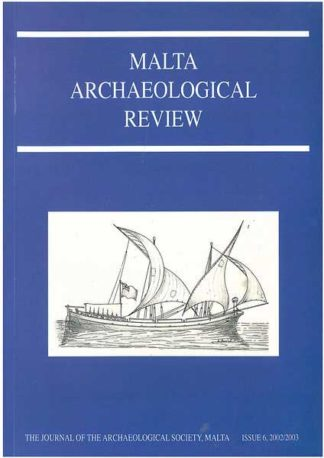 Malta Archaeological Review Issue 6