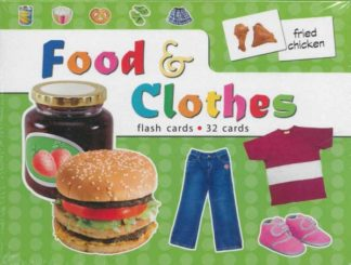 Food & Clothes Flash Cards