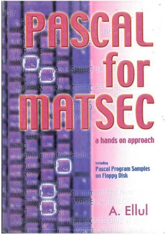 Pascal For Matsec - a hands on approach
