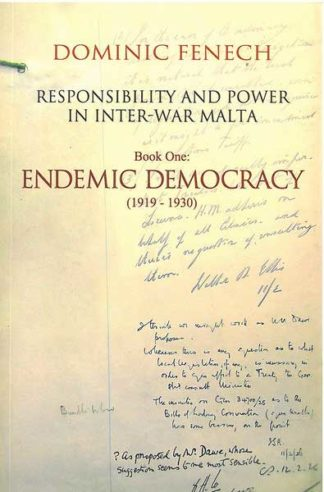 Book One: Endemic Democracy (1919-1930)