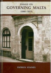 Essays on Governing  Malta (1800-1813)