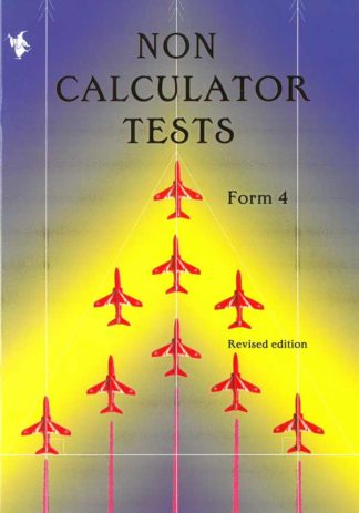Non Calculator Tests - Form 4