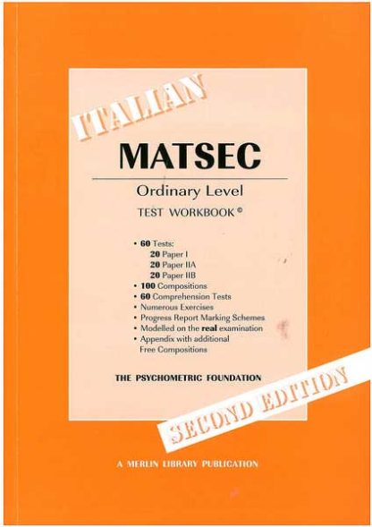 Matsec - Italian Ordinary Level - test workbook
