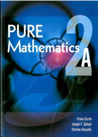 Pure Maths 2A