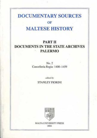Documentary Sources of Maltese History Part II No 2