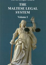 The Maltese Legal System Volume I