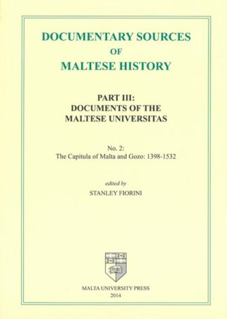 Documentary Sources of Maltese History - Part III: No. 2