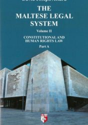 The Maltese Legal System Volume II