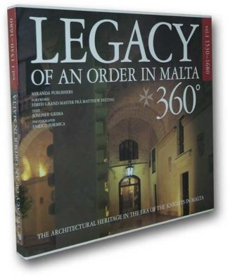 Legacy of an Order in Malta 360 - Vol 1