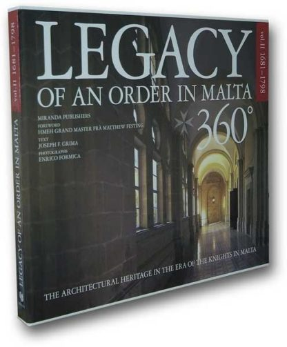 Legacy of an Order in Malta 360 degrees - Vol 2