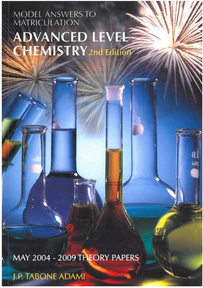 Advanced Level Chemistry 2nd Edition