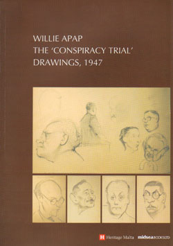 The 'Conspiracy Trial' Drawings