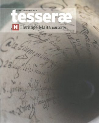 Tesserae - Issue 1 - Autumn 2015