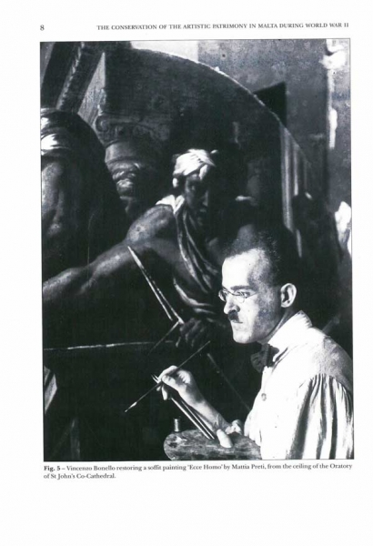 The Conservation of the Artistic Patrimony in Malta during World War II
