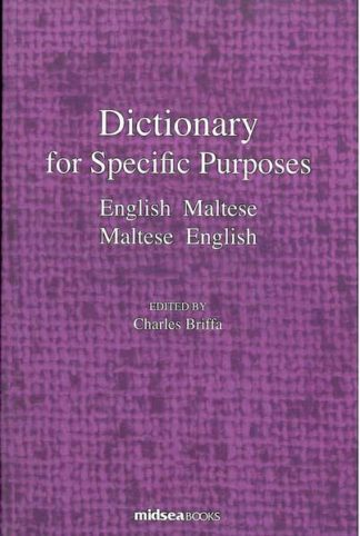Dictionary for Specific Purposes - English - Maltese