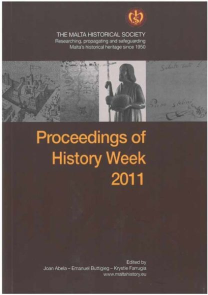 Proceedings of History Week 2011