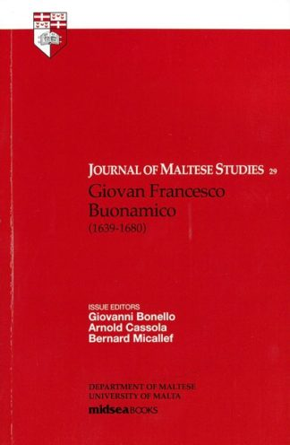 Journal of Maltese Studies 29