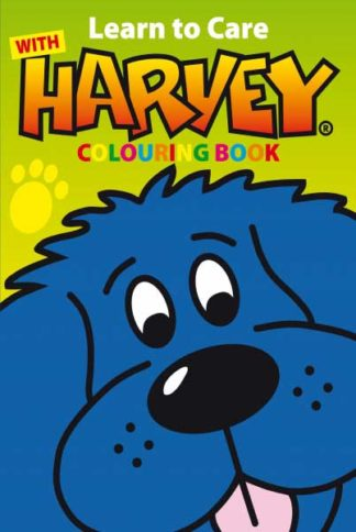 Learn to Care with Harvey Colouring Book