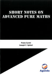 Short Notes On Advanced Pure Maths