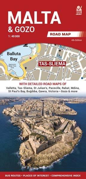 BDL Malta & Gozo Road Map