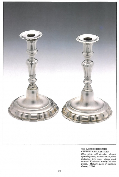 Antique Maltese Domestic Silver