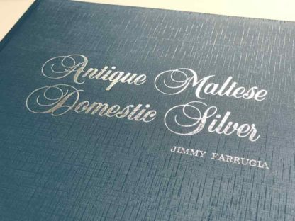 Antique-Maltese-Domestic-Silver-BDL Books