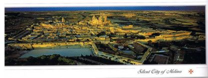 Silent City of Mdina (Pack of 50) #25
