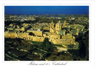 Mdina and it's Cathedral (Pack of 50) #184