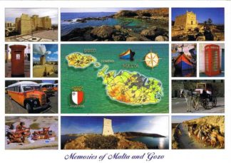 Memories of Malta and Gozo (Pack of 50) #214