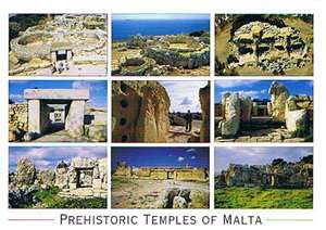 Prehistoric Temples of Malta (Pack of 50) #273