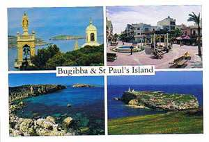 Bugibba & St Paul's Island (Pack of 50) #274