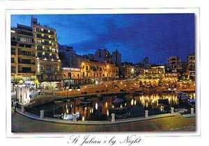 St Julian's by Night (Pack of 50) #273