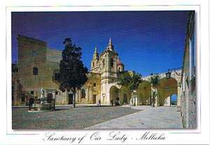Sanctuary of Our Lady - Mellieha (Pack of 50) #277