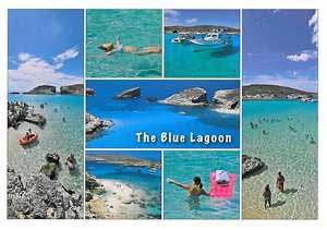 The Blue Lagoon (Pack of 50) #293