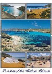 Beaches of the Maltese Islands (Pack of 50) #321